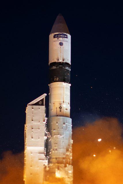 Lanzamiento del Sentinel-3B (ESA).