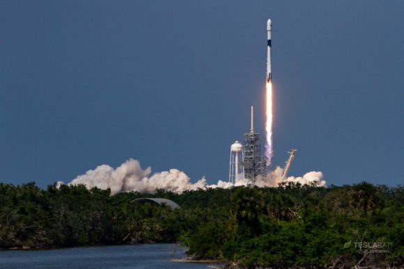 Lanzamiento del Falcon 9 Block 5 (Tom Cross).