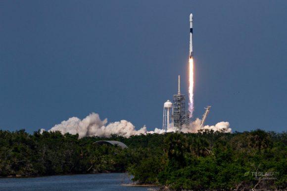 Lanzamiento del Falcon 9 Block 5 (Tom Cross).