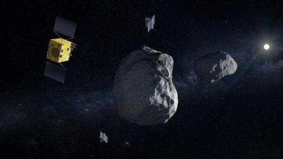 Sonda Hera, la reencarnación de AIM (ESA).