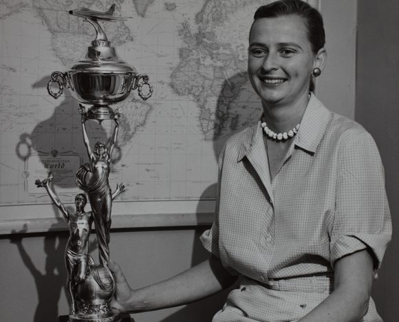 Jerrie Cobb.