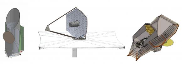 Uno de los diseños de LUVOIR (NASA).