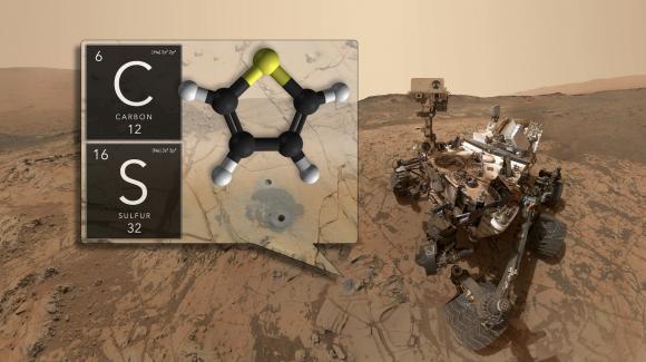 Curiosity descubre sustancias orgánicas antiguas (NASA/JPL).