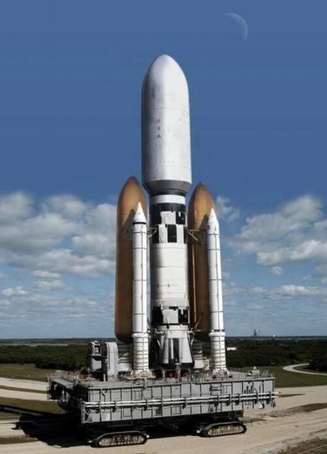 Júpiter III, un cohete gigante de fantasía capaz de situar entre 200 y 500 toneladas en LEO (TeamVision).