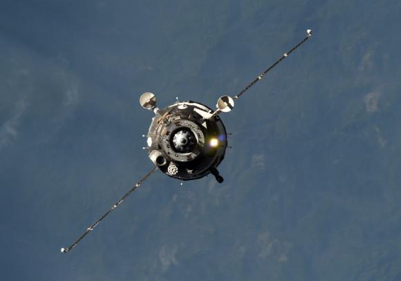 La Soyuz MS-067 se separa de la ISS (NASA).
