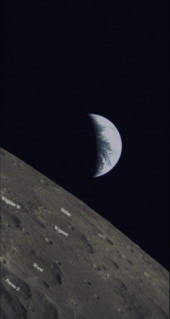 Otra imagen de la Tierra del Longjiang 2 (Xinhua).