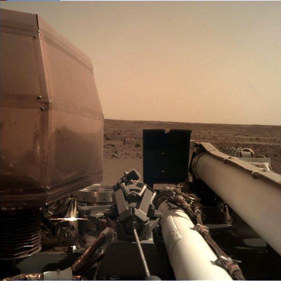InSight ha aterrizado en Marte