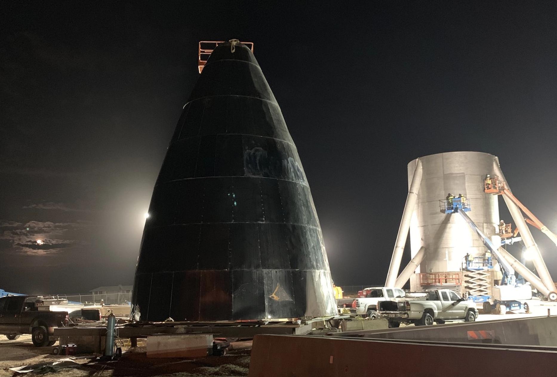06d49f159a0e Construyendo una nave de acero en Texas (Elon Musk SpaceX).