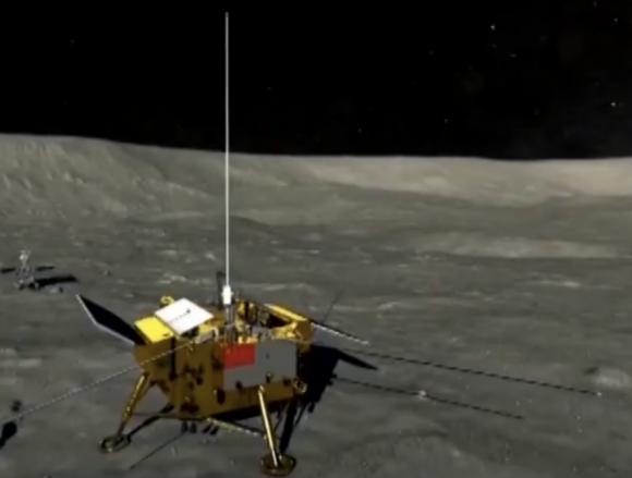 China lanza la sonda Chang'e 4 rumbo a la cara oculta de la Luna