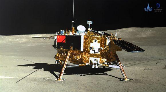 Chang'e 4: postales desde la cara oculta de la Luna
