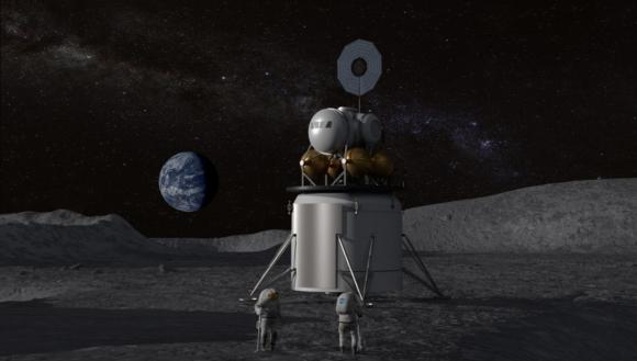 El plan de la NASA para poner astronautas en la superficie de la Luna en 2028