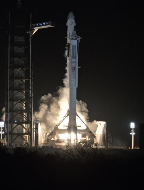 Primer lanzamiento de la cápsula Dragon 2 de SpaceX (DM-1)