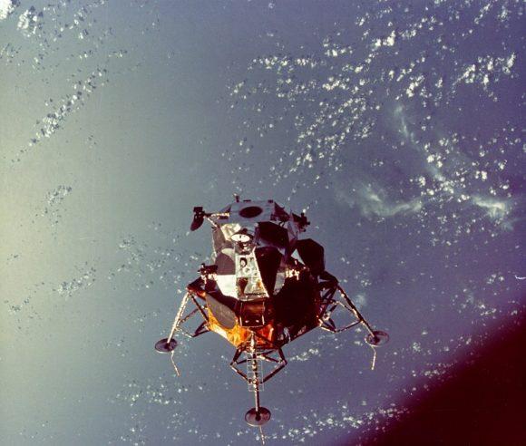 Pilotando el módulo lunar por primera vez (medio siglo del Apolo 9)