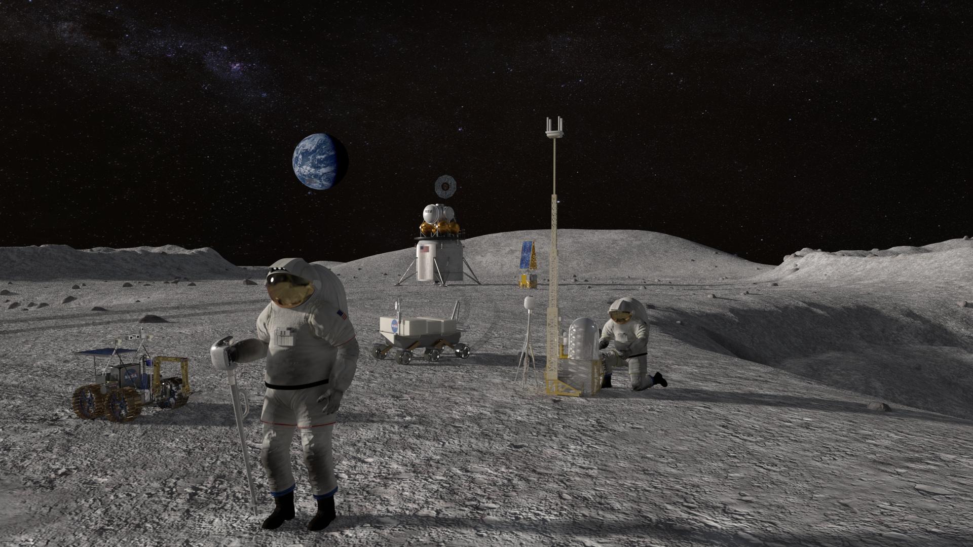 ¿Puede la NASA pisar la Luna en 2024?