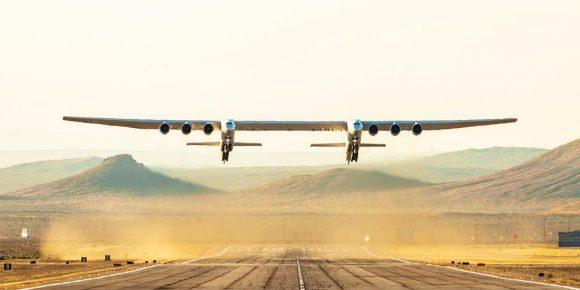 El primer despegue de Stratolaunch: ¿un vuelo a ninguna parte?