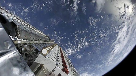 Primer lanzamiento de la constelación Starlink de SpaceX