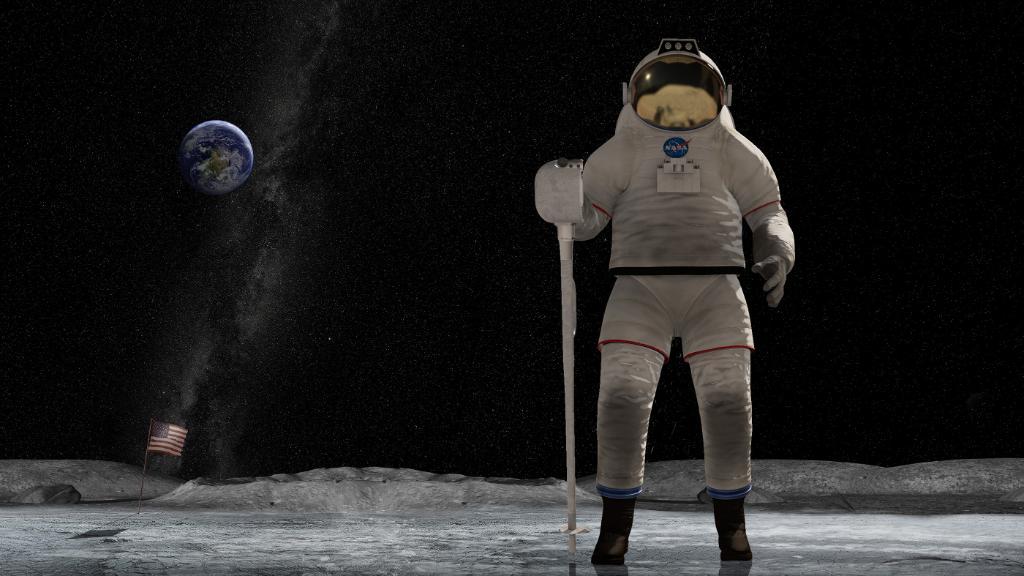 e11b85051cf2 ¿Qué trajes usarán los astronautas de la NASA si quieren volver a la Luna  en 2024  Según la imagen emplearán un traje semirrígido de tipo xEMU (NASA).