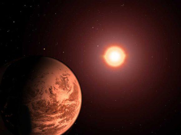 ¿Cuánto tiempo puede ser habitable un planeta alrededor de una estrella gigante roja?