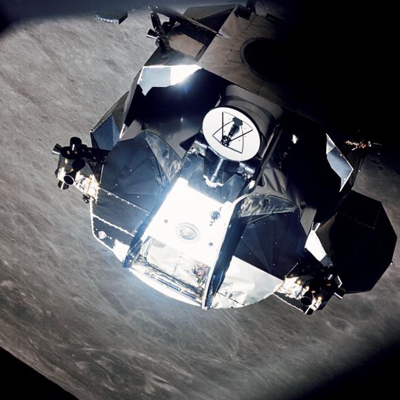 ¿Han encontrado el módulo lunar Snoopy del Apolo 10?