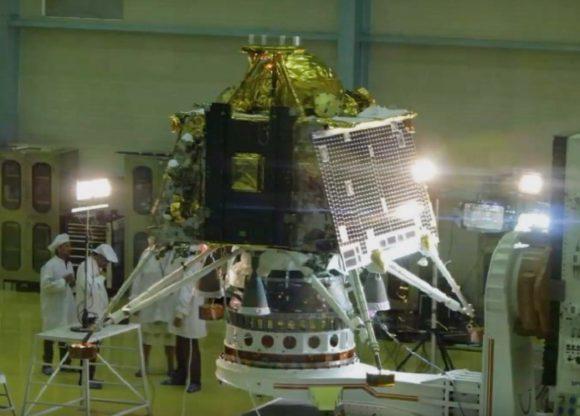 Chandrayaan 2: India en la superficie lunar
