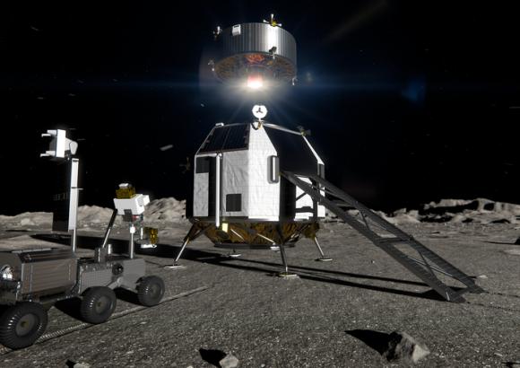 Misión HERACLES: Japón, Canadá y Europa juntos explorando el polo sur de la Luna