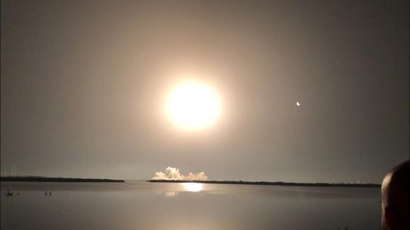 Mi primera vez (en un lanzamiento espacial)