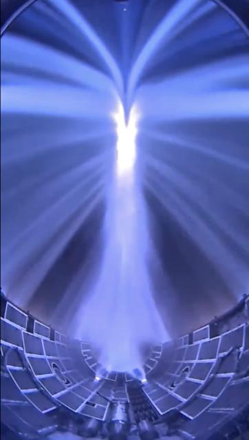 La reentrada y recuperación de la cofia de un Falcon Heavy