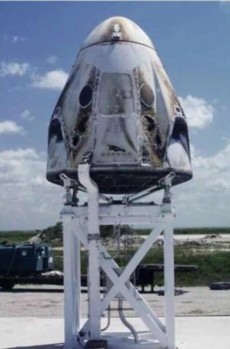 SpaceX ha anunciado que ya sabe por qué explotó la cápsula Crew Dragon DM-1