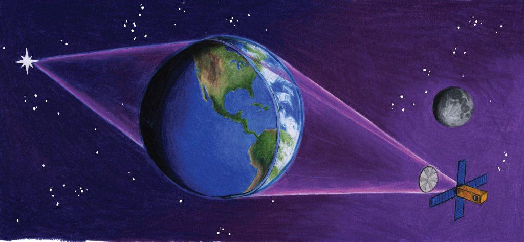 El «Terrascopio»: usando la Tierra como un telescopio gigante