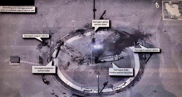 Trump, el satélite espía Crystal y el cohete Safir iraní