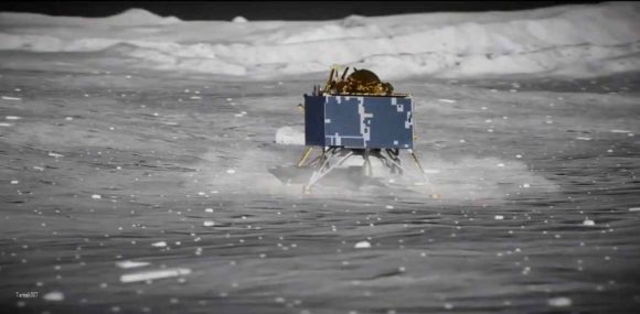 La sonda india Vikram de la misión Chandrayaan 2 se estrella en la Luna