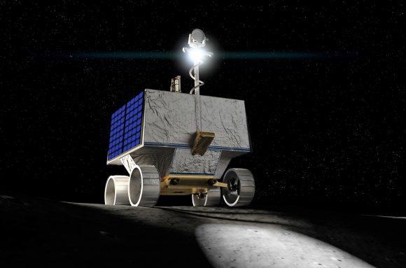 VIPER: un rover de la NASA para explorar el hielo de los polos de la Luna