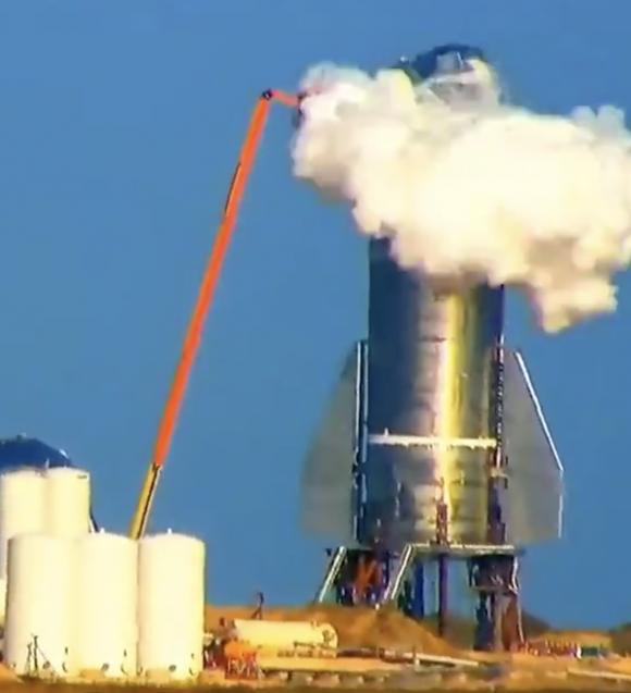 Adiós al prototipo Starship Mk1 de SpaceX