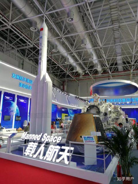 El nuevo cohete chino para misiones lunares tripuladas toma forma