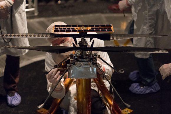 ¿Cómo será el sonido del primer helicóptero que volará en Marte?