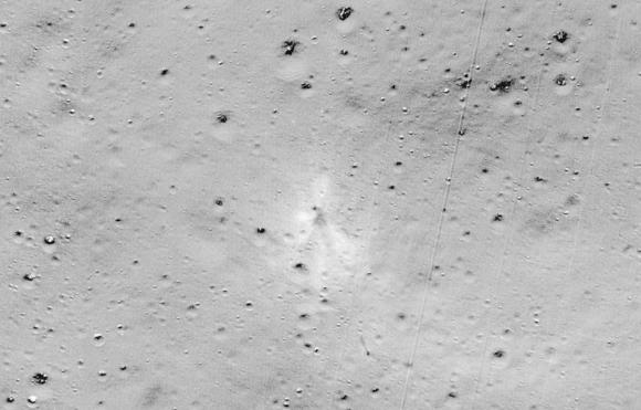 Encontrado el lugar en el que se estrelló la sonda Vikram