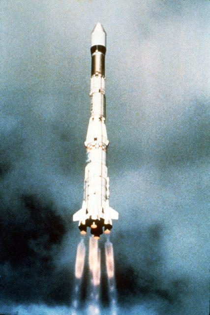 40 años del primer cohete Ariane