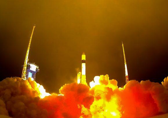 Último lanzamiento del cohete Rokot
