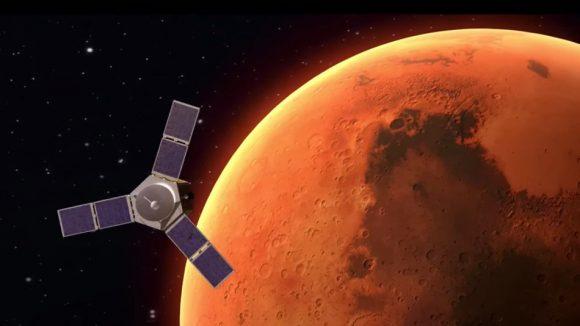 Al Amal: la primera sonda árabe en Marte
