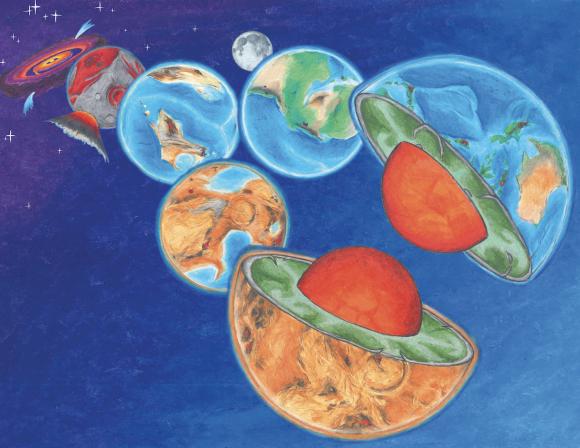 Las cuatro sondas finalistas para la próxima misión Discovery de la NASA