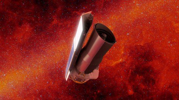 Adiós al telescopio espacial Spitzer