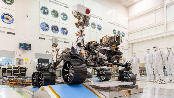 El rover marciano Mars 2020 se llamará Perseverance