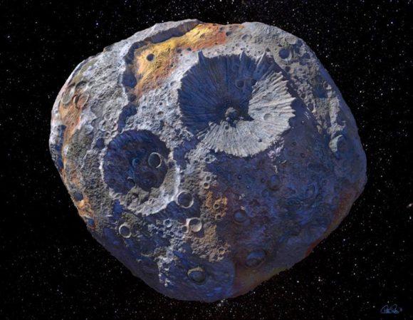 El asteroide metálico Psyche o por qué la minería de asteroides no es tan sencilla