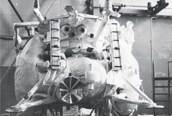 La «ropa» del Lunojod y otras naves espaciales soviéticas
