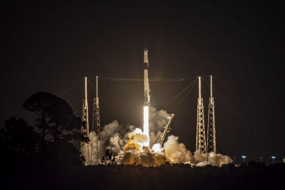 El último lanzamiento de una Dragon de carga y el 50º aterrizaje de una etapa de un cohete Falcon