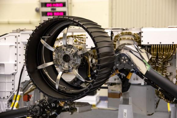 Las ruedas marcianas de Perseverance