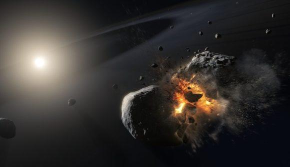 Cuando los mundos chocan: la «desaparición» del exoplaneta Fomalhaut b
