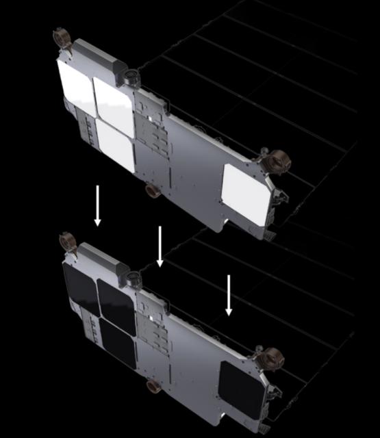 Cómo oscurecer los satélites Starlink para que no molesten a los astrónomos
