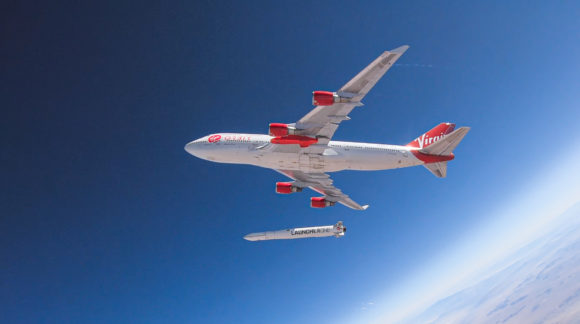 Lanzamiento fallido del LauncherOne de Virgin Orbit