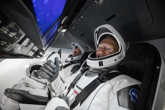 Primer lanzamiento tripulado de la Crew Dragon de SpaceX (misión DM-2)